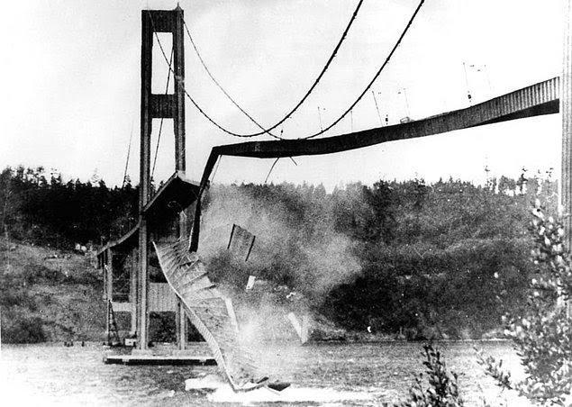 Tacoma Narrows Köprüsü - 1940