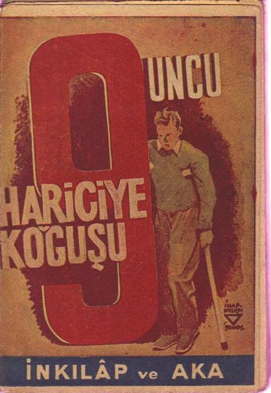 """""""Dokuzuncu Hariciye Koğuşu"""", (1930) Peyami Safa"""