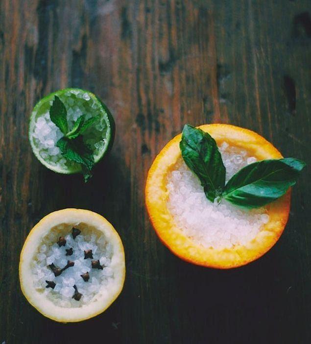 Portakal ve limon kokusu ile evler mis gibi koksun.